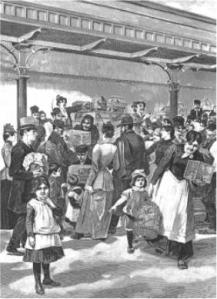Pasar Burung di St Andreasberg, Harz   Jerman pada abad ke-19